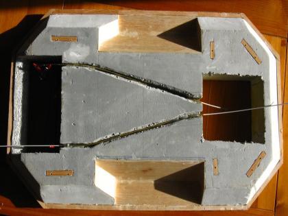 plan d'un aéroglisseur Dessous