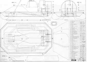 plan d'un aéroglisseur Plan